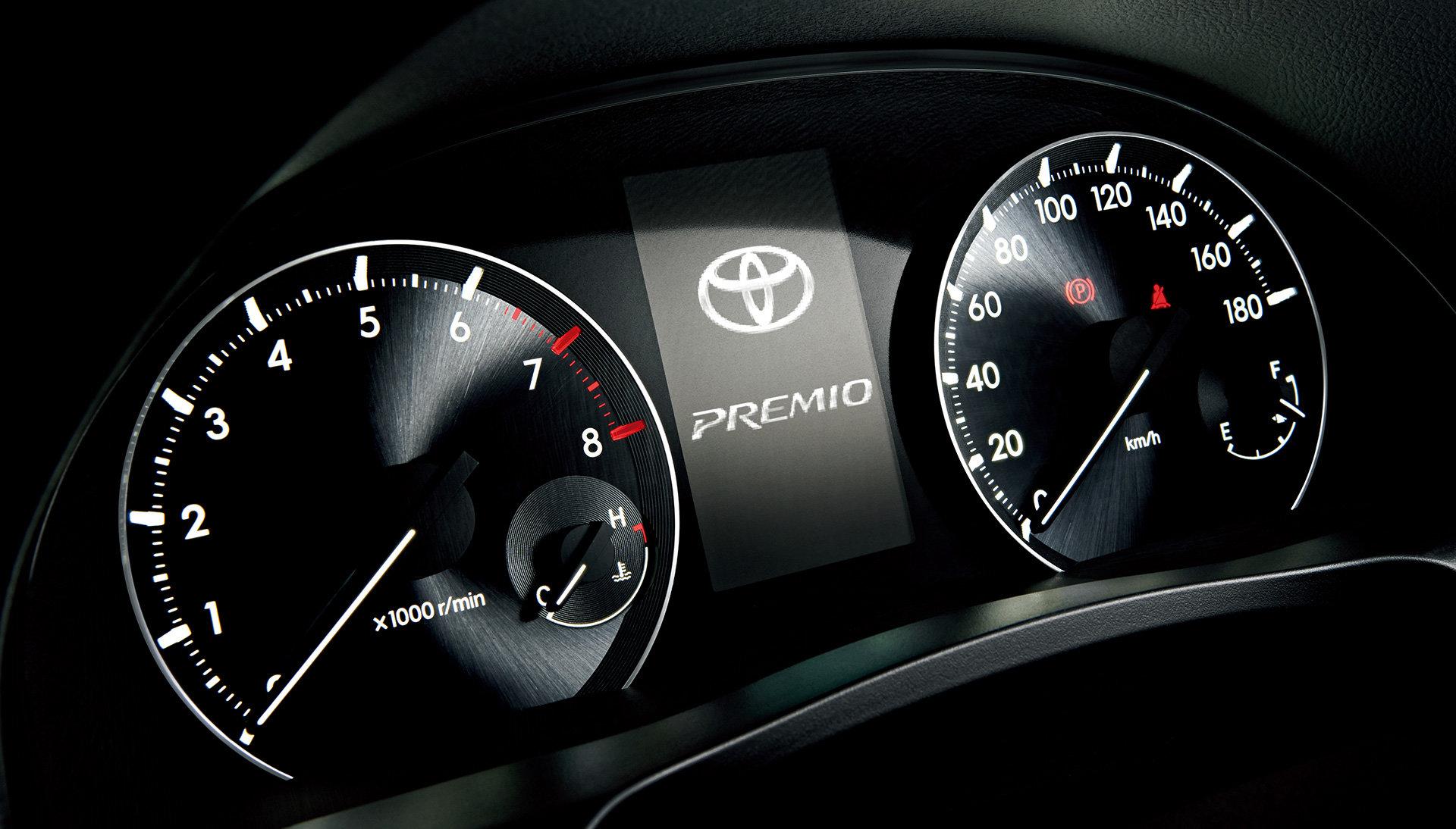 приборная панель Toyota Корона премио #10