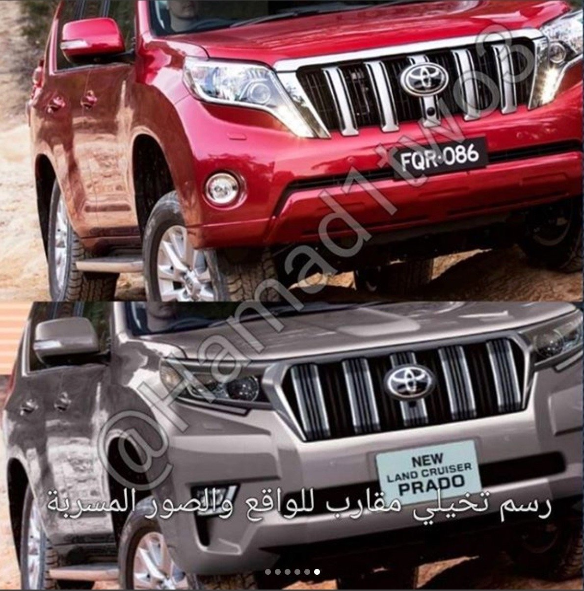 Toyota Land Cruiser Prado рестайлинг 2013, 2014, 2015 ...